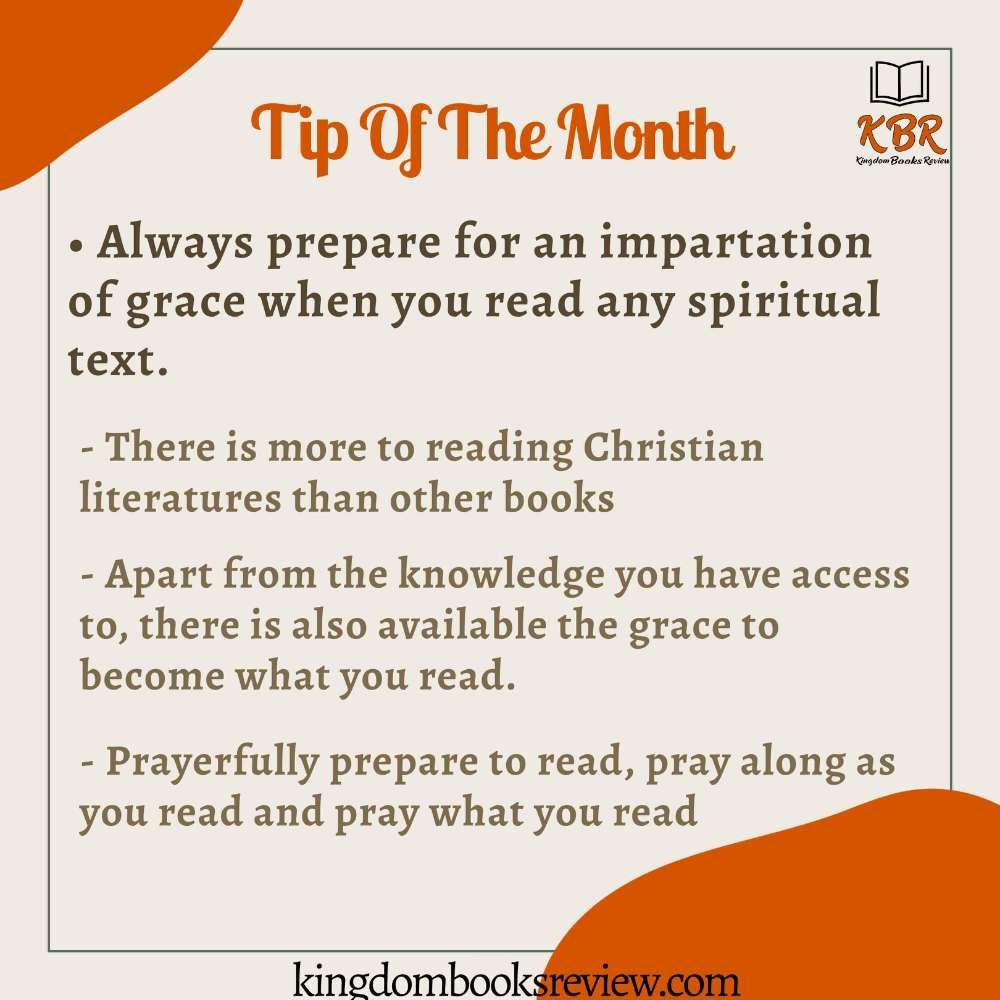 Reading Tip for August