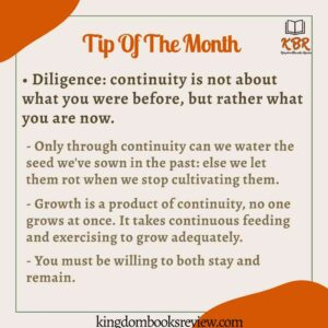 Reading Tip Of The month